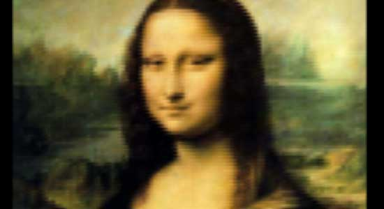Mona Lisa with pure CSS
