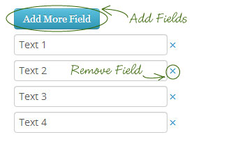 to add and remove duplicate input fields, here's another jQuery ...
