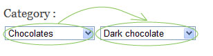 Select Box Change Dynamically