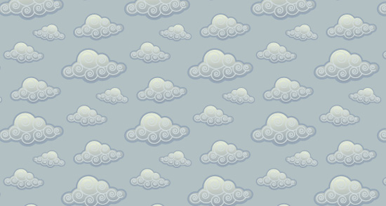 The White Clouds And Light Blue Color Come Great Togetherand Would Be Perfect To Use As A Background For Website