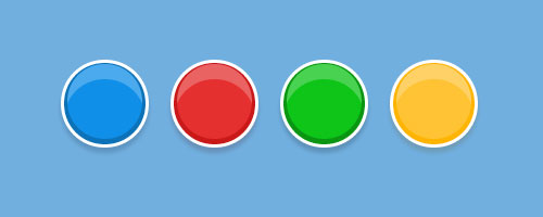 css3 shiny buttons