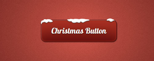 css3 christmas button