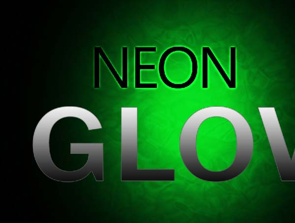 how to create neon glow effect in photoshop
