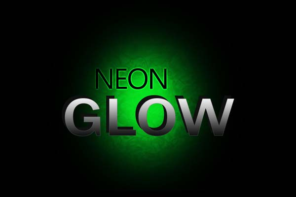 Neon Glow Text Effect using Photoshop – Sanwebe