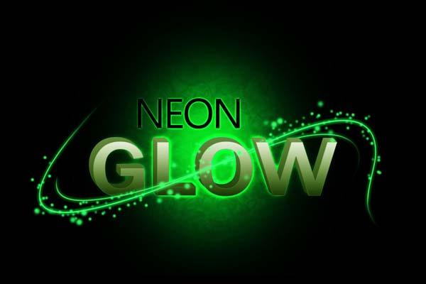 Neon Glow Text Effect using Photoshop – Sanwebe