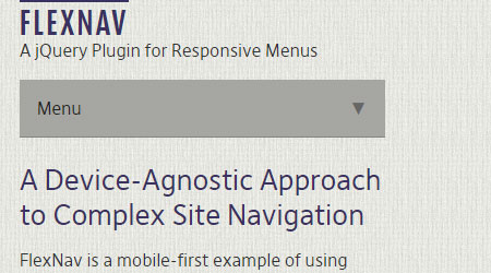 40+ Responsive Navigation Solutions (Examples & Codes) – Sanwebe