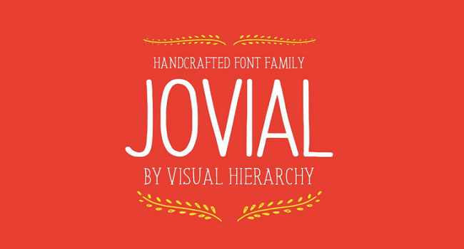 Jovial Font Family